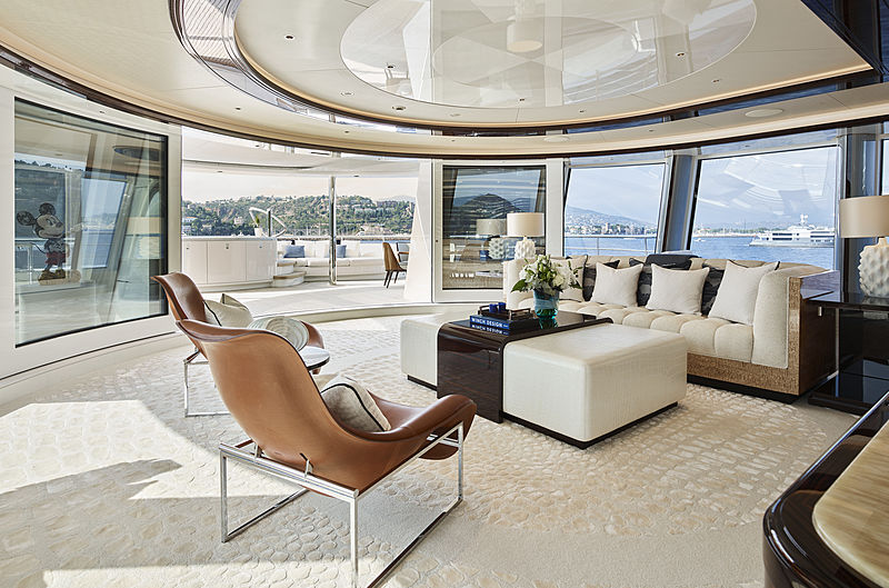 Excellence yacht owner's lounge