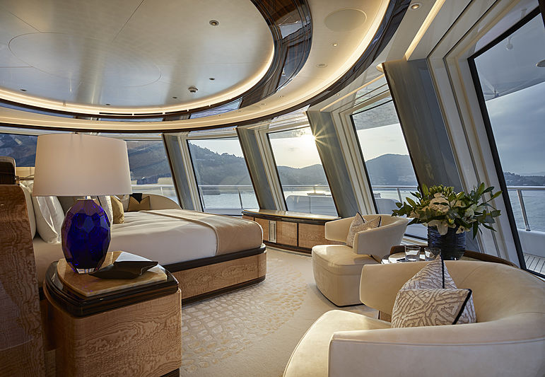 Excellence yacht owner's cabin
