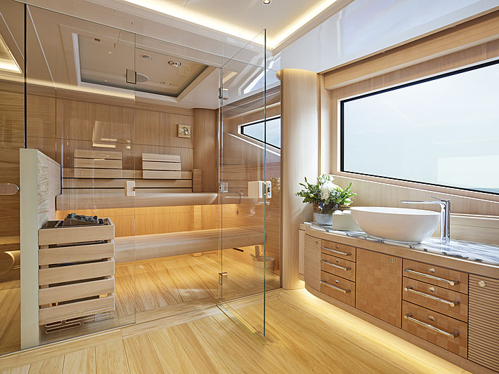 Excellence yacht spa