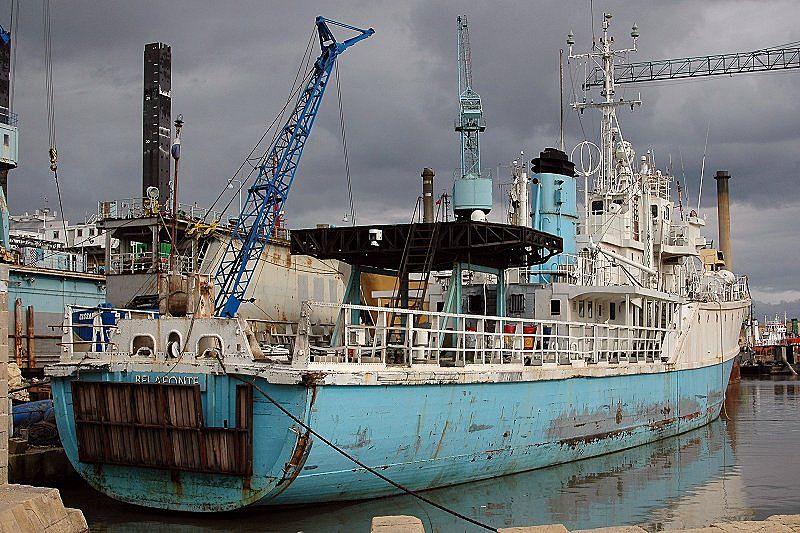 Research vessel Belafonte
