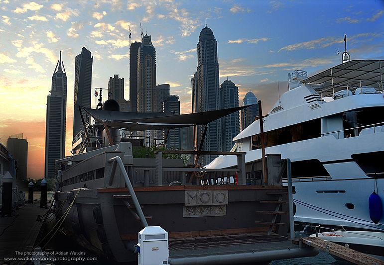 Mojo yacht in Dubai