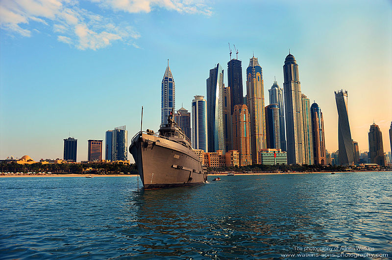 Mojo yacht off Dubai