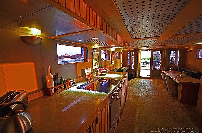 Mojo yacht galley