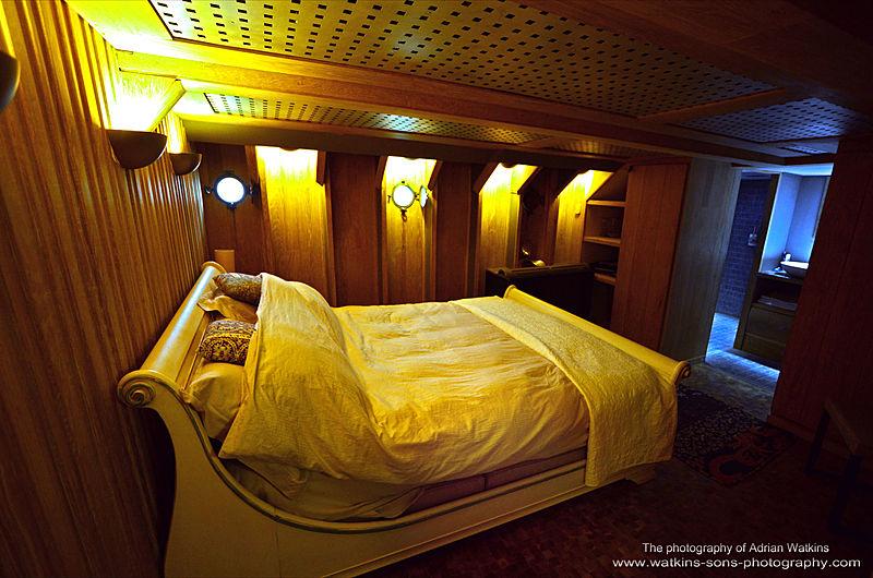 Mojo yacht stateroom