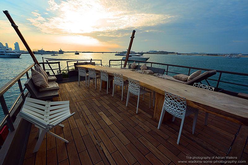 Mojo yacht sun deck