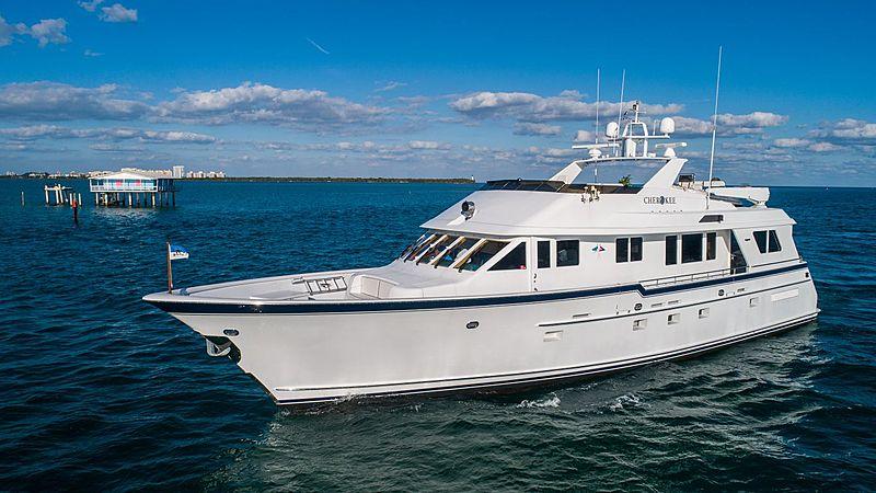 Cherokee yacht cruising