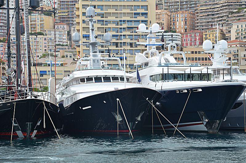 Minderella yacht in Monaco