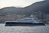 Illusion Plus yacht anchored off Monaco