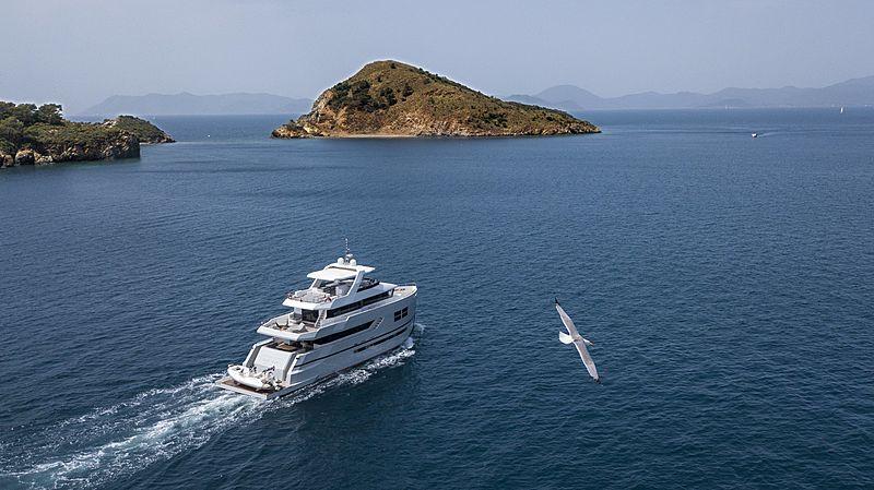 Big Joy yacht cruising