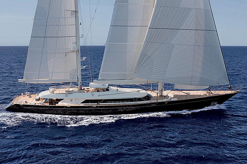 Asahi yacht cruising
