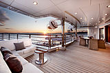 Octopus yacht deck