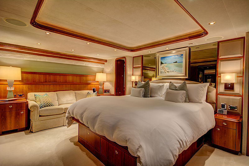 My Maggie yacht stateroom