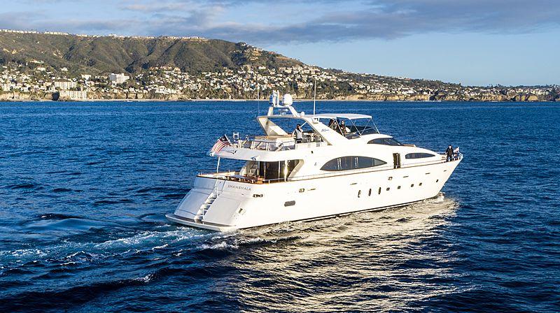 Shambhala yacht running