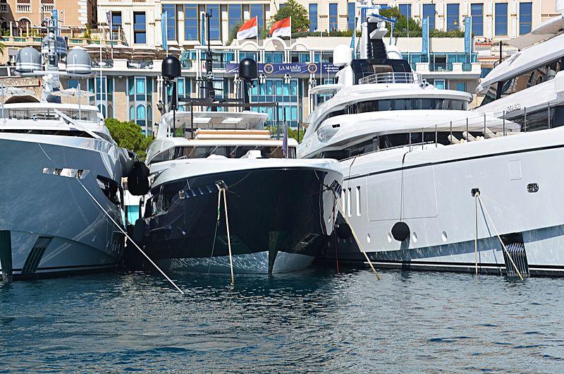 Severinos yacht in Monaco