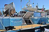Shadow yacht in Monaco