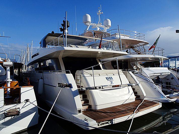 GB2 yacht in Viareggio