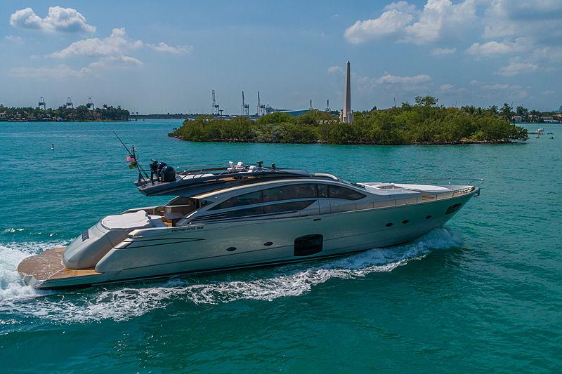 Pershing 82 yacht Groot