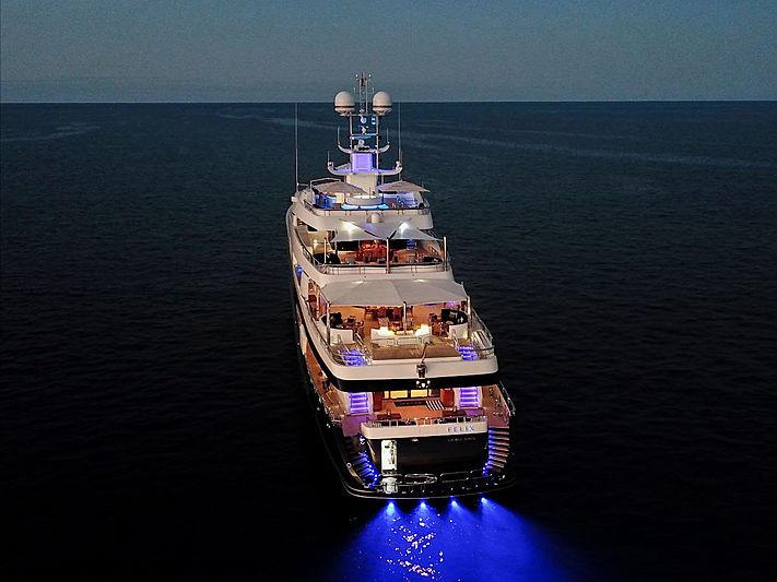 Felix yacht at anchor