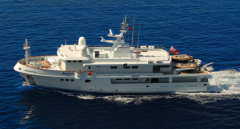 Garfield yacht