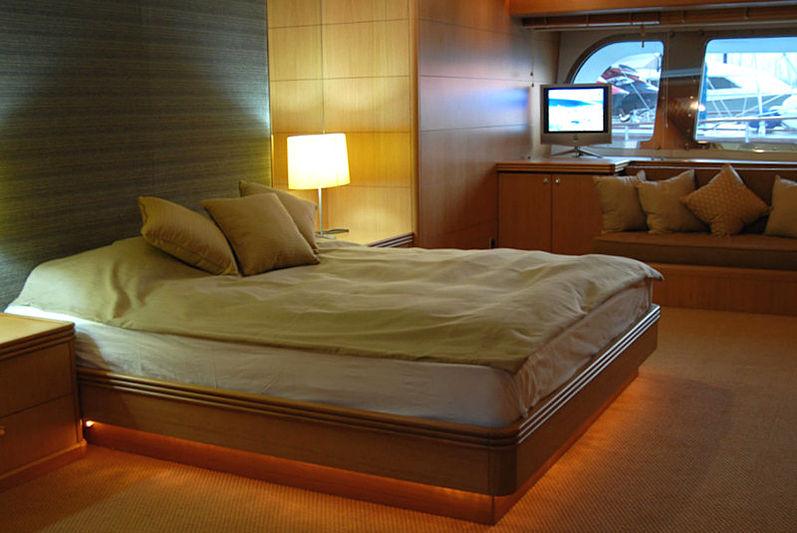 Garfield yacht stateroom