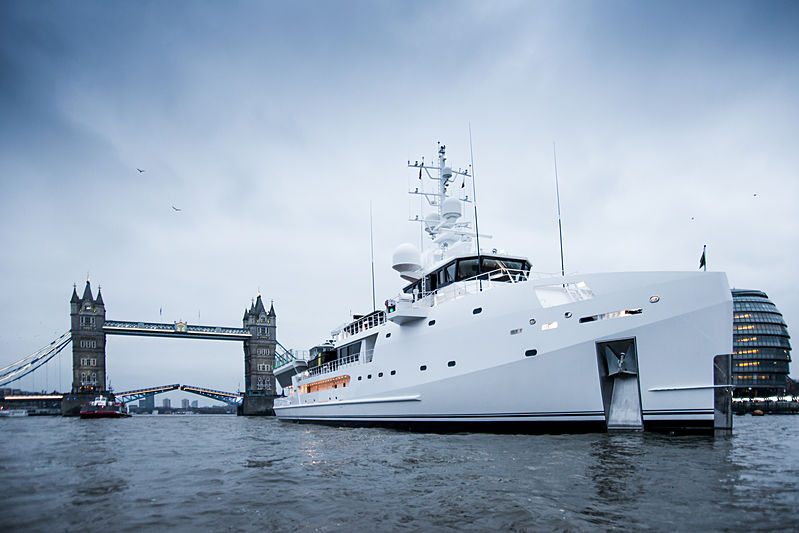 Game Changer yacht in London