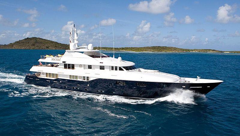 ODESSA yacht Turquoise
