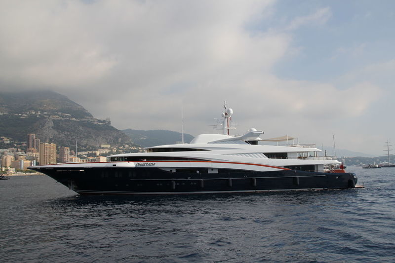 Anastasia leaving Monaco