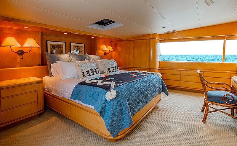 Steadfast yacht stateroom
