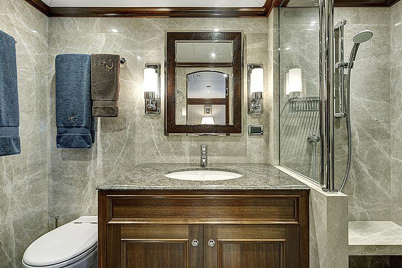 Encore yacht bathroom