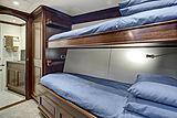 Encore yacht crew cabin