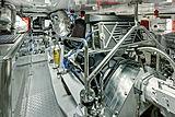 Encore yacht engine room