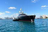 Kiss yacht at anchor in Miami