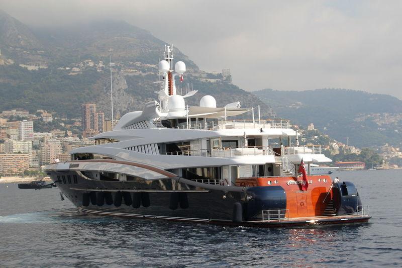 Anastasia leaving Monaco