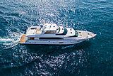 Horizon RP100/01 yacht cruising