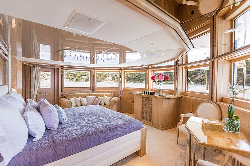Sunrise yacht stateroom