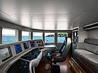Space yacht wheelhouse