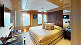 Space yacht stateroom