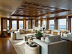 Space yacht saloon