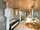 Space yacht bathroom