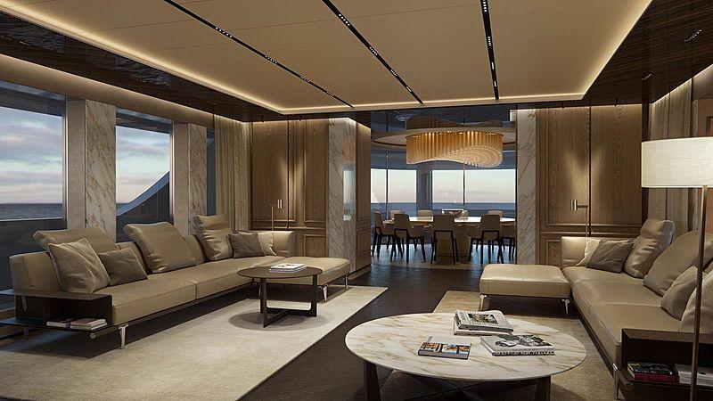 Geco yacht interior design