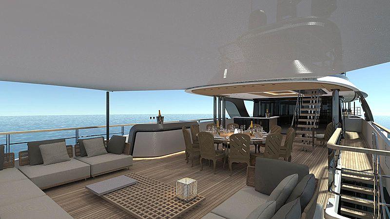 Geco yacht exterior design