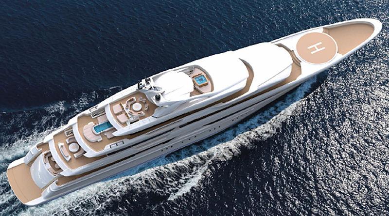 O'Pari yacht exterior design