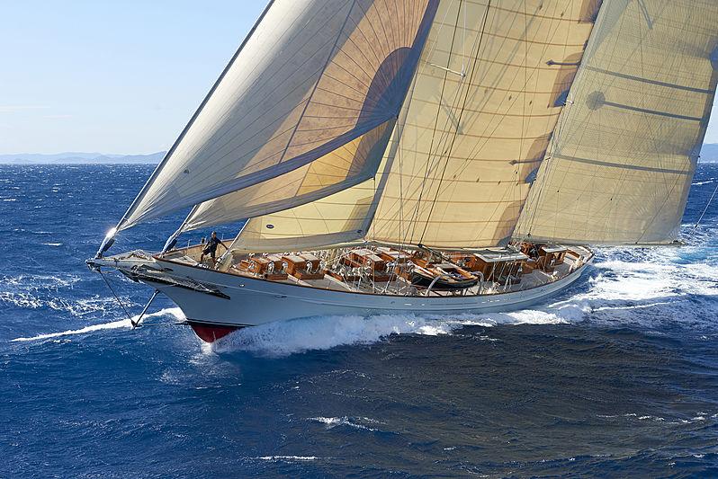 Borkumriff IV yacht sailing