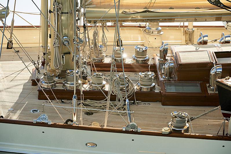 Borkumriff IV yacht deck