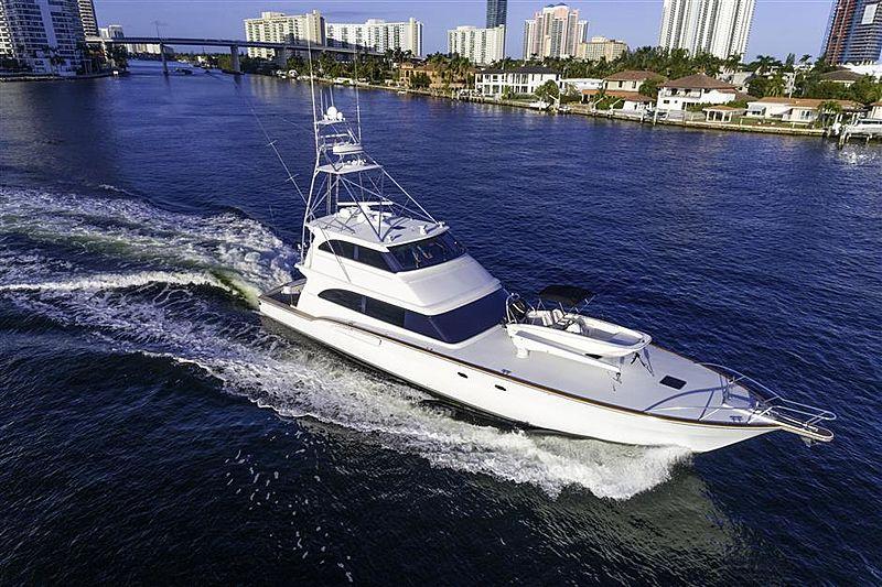 SULLIVAN BAY yacht Roscioli Donzi Yachts
