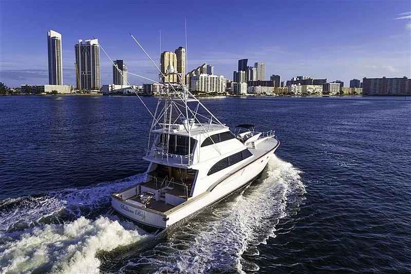 Sullivan Bay yacht cruising