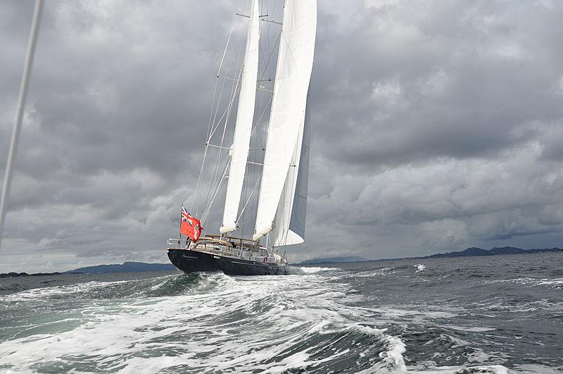 Surama yacht sailing