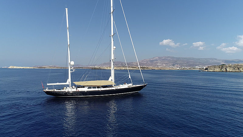 Surama yacht anchored