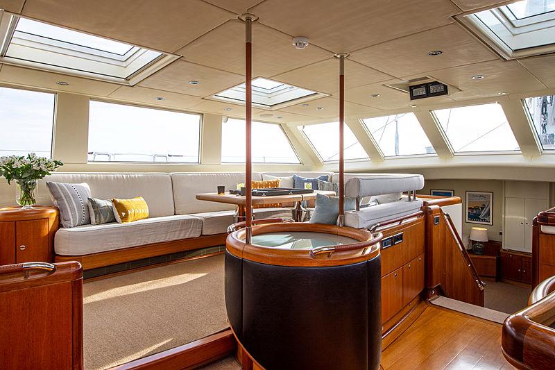 Surama yacht saloon