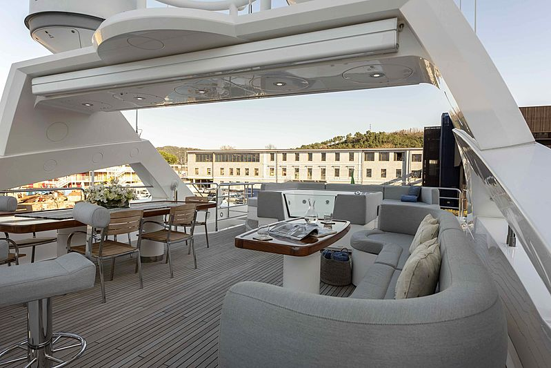 Ambassador yacht exterior